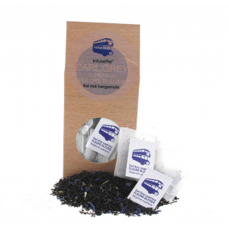 Infusettes x20 EARL GREY FLEURS BLEUES
