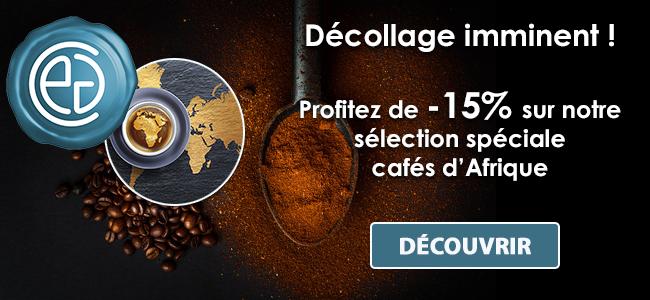 -15% sur nos cafés d'Afrique