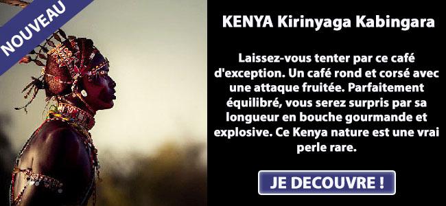 Nouveauté café d'exception Kenya Kirinyaga