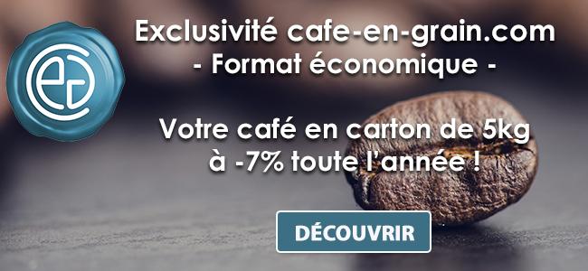-7% sur nos cafés en carton toute l'année