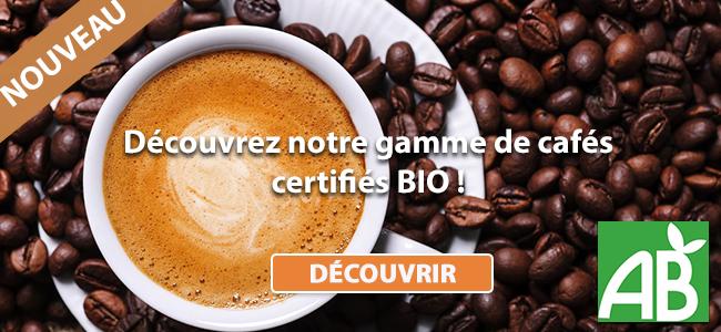Cafés certifiés BIO