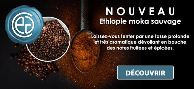 Ethiopie moka sauvage KAFFA Tatmara