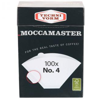 Filtre N°4 MOCCAMASTER boite de 100